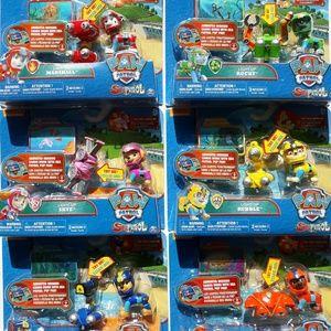 Nickelodeon 6 - piece Paw Patrol pop pack 💡ups